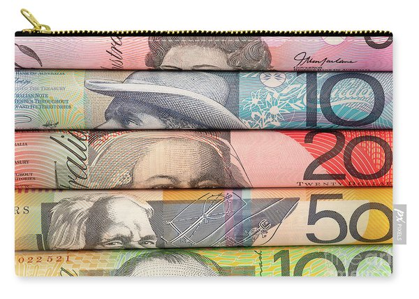 Aussie Dollars 06 Carry-all Pouch