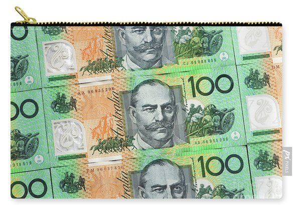Aussie Dollars 10 Carry-all Pouch