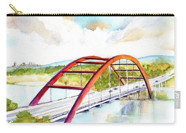 Austin 360 Bridge - Pennybacker Carry-all Pouch