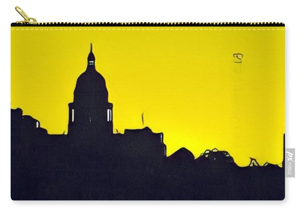 Austin Capital At Sunrise Carry-all Pouch