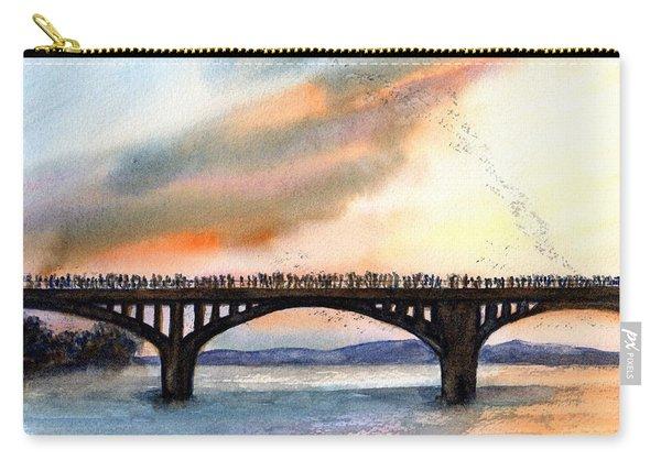 Austin, Tx Congress Bridge Bats Carry-all Pouch