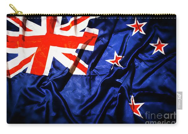 New Zealand Flag Art Carry-all Pouch