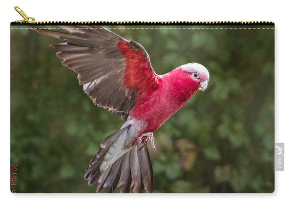 Australian Galah Parrot In Flight Carry-all Pouch