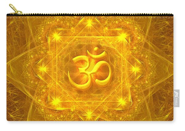 Authentic Om  Carry-all Pouch
