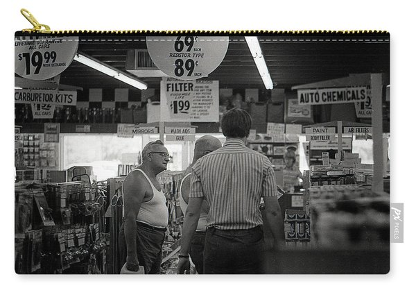 Auto-parts Store, 1972 Carry-all Pouch
