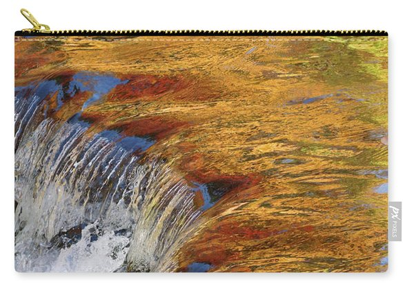 Autumn Abstract Portrait Carry-all Pouch