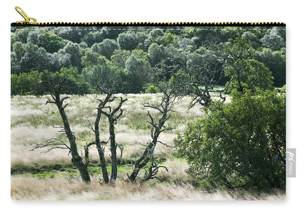 Autumn And Grass In Isle Of Skye, Uk Carry-all Pouch