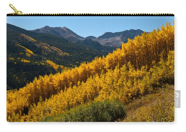 Autumn Aspen Near Castle Creek Carry-all Pouch