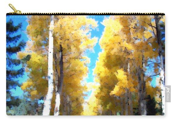 Autumn Aspens Carry-all Pouch