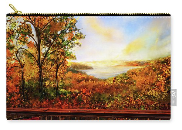 Autumn At Beaver Lake -beaver Lake Art Carry-all Pouch