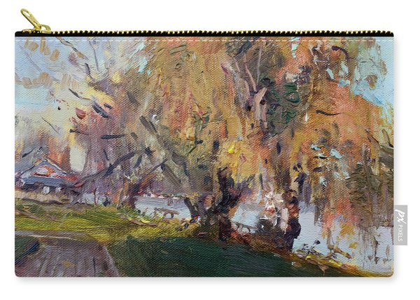 Autumn At Chautauqua Lake  Carry-all Pouch