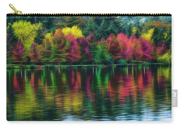Autumn At Green Lake Seattle Carry-all Pouch