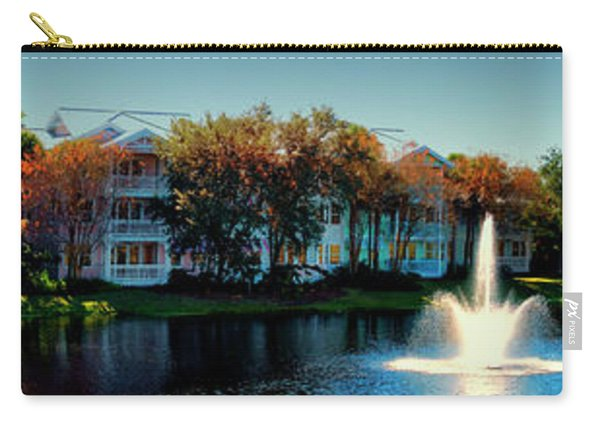 Autumn At Old Key West Resort Panorama Walt Disney World Mp Carry-all Pouch