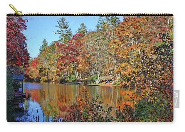 Autumn At The Lake 2 Carry-all Pouch