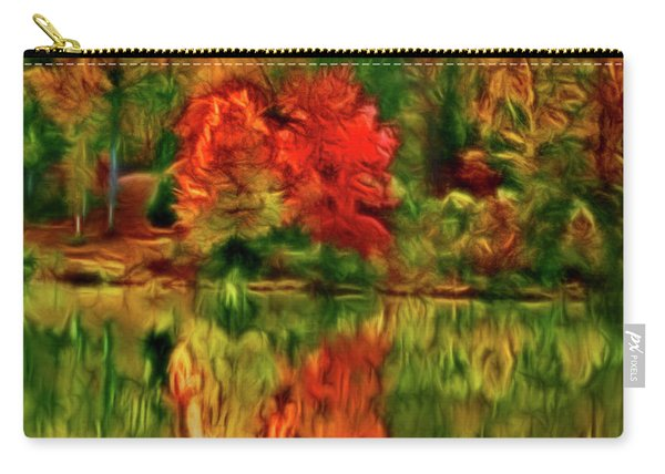 Autumn At The Lake-artistic Carry-all Pouch