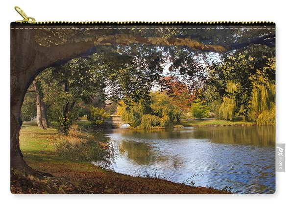 Autumn At Woodlawn Carry-all Pouch