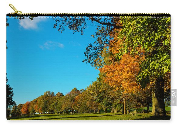 Autumn At World's End Carry-all Pouch
