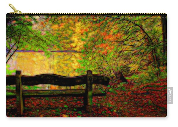 Autumn Bench Carry-all Pouch