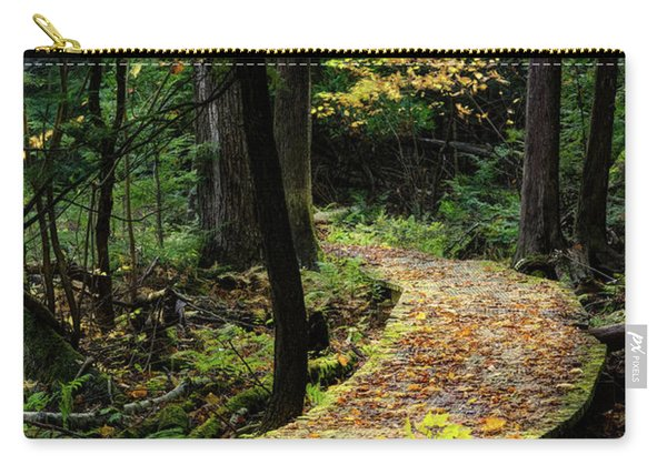 Autumn Boardwalk Carry-all Pouch