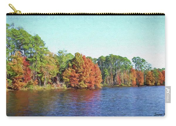 Autumn Color At Ratcliffe Lake Carry-all Pouch