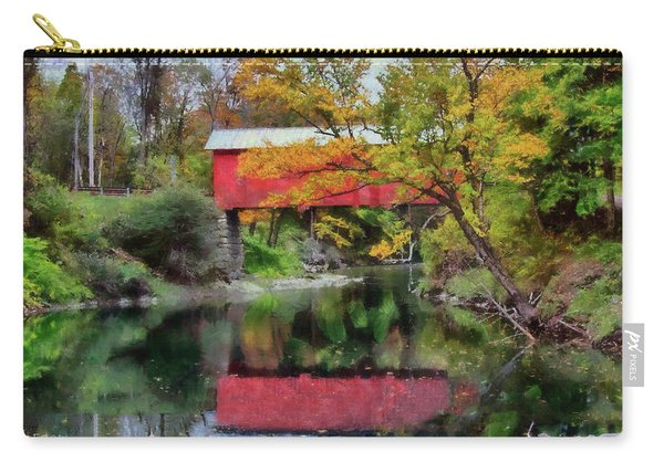 Autumn Colors Over Slaughterhouse. Carry-all Pouch
