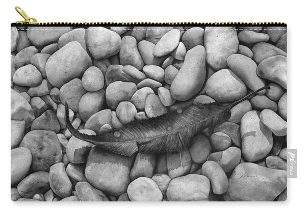 Autumn Epilogue On Black Carry-all Pouch