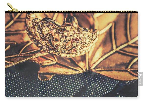 Autumn Fashion Diamonds Carry-all Pouch
