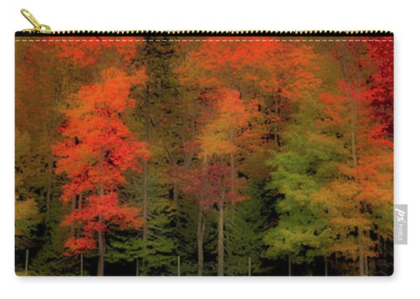 Autumn Fence Line Carry-all Pouch