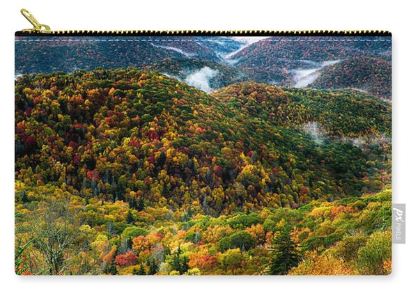 Autumn Foliage On Blue Ridge Parkway Near Maggie Valley North Ca Carry-all Pouch