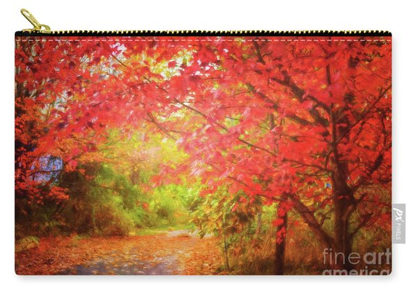 Glorious Foliage On The Rail Trail Carry-all Pouch