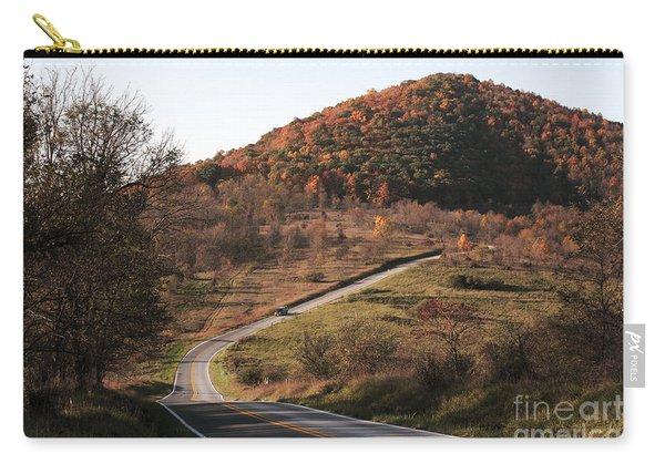 Autumn Hill Near Hancock Maryland Carry-all Pouch