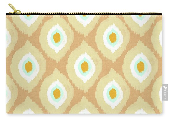 Autumn Ikat- Art By Linda Woods Carry-all Pouch