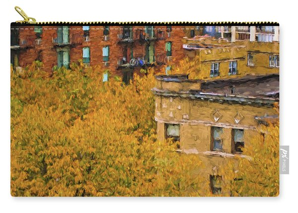 Autumn In Chicago Carry-all Pouch