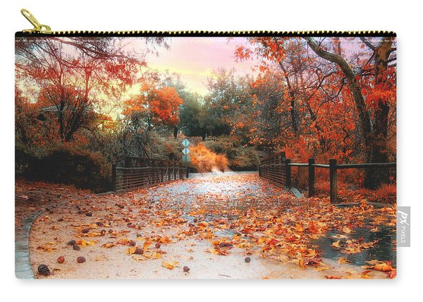 Autumn In Discovery Lake Carry-all Pouch