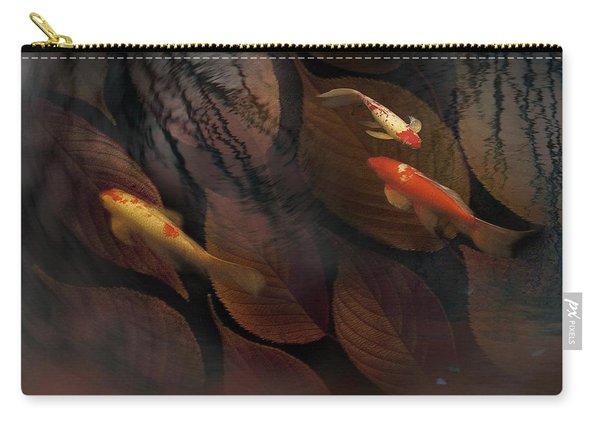 Autumn Koi Carry-all Pouch