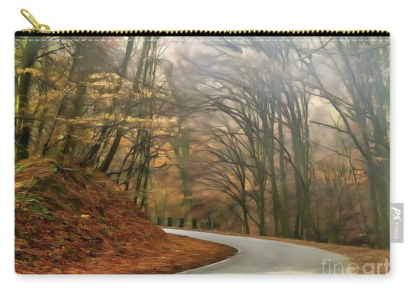 Autumn Landscape Painting Carry-all Pouch