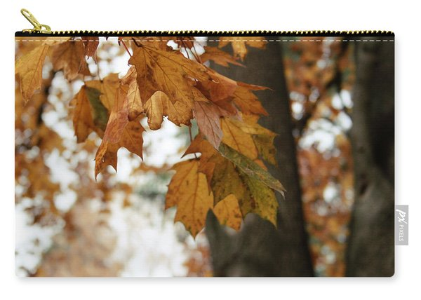 Autumn Leaves 2- By Linda Woods Carry-all Pouch