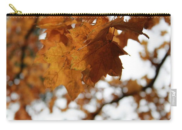 Autumn Leaves- By Linda Woods Carry-all Pouch