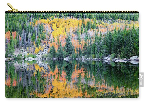 Autumn Mirror At Bear Lake Carry-all Pouch