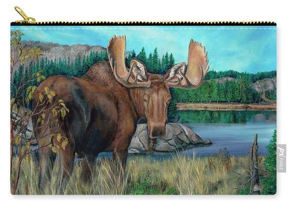 Autumn Moose Carry-all Pouch