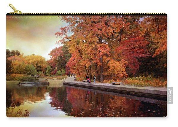 Autumn Native Garden Carry-all Pouch