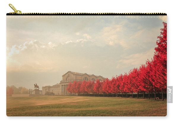 Autumn On Art Hill Carry-all Pouch