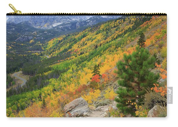 Autumn On Bierstadt Trail Carry-all Pouch