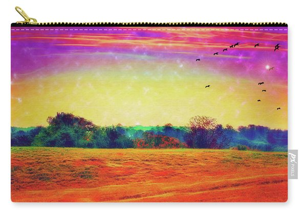 Autumn On Earth Two Carry-all Pouch