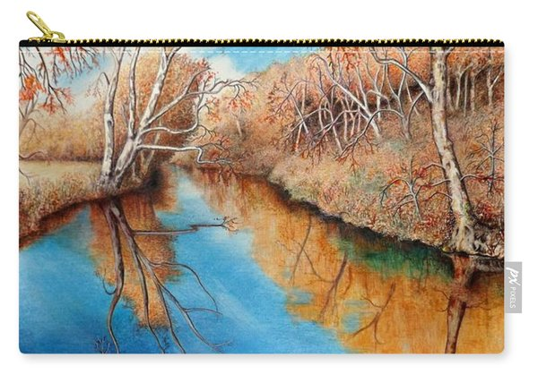 Autumn On The Elkhorn Carry-all Pouch