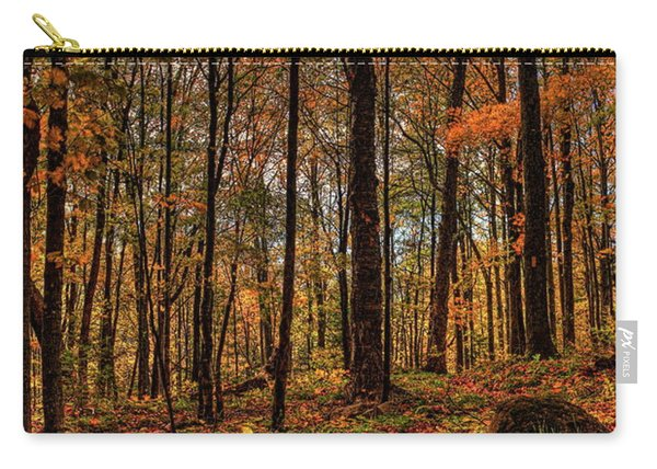 Autumn On The Ice Age Trail Carry-all Pouch