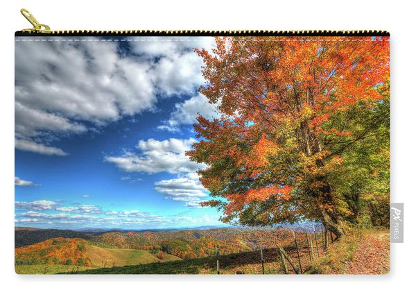 Autumn On The Windfall Carry-all Pouch