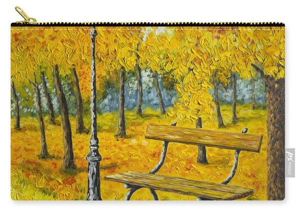 Autumn Park Carry-all Pouch