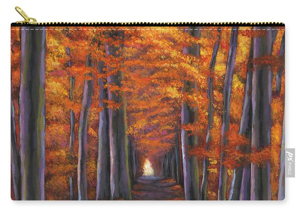 Autumn Path Carry-all Pouch