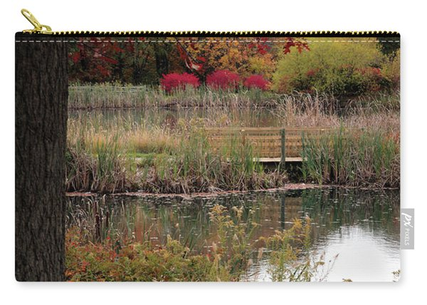 Autumn Pond In Maryland Carry-all Pouch